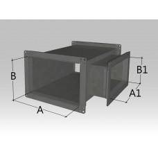 Тройник прямоугольного сечения с прямоугольной врезкой