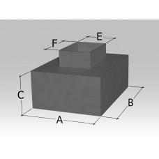 Пленум под решетку с верхней прямоугольной врезкой