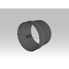 Ниппель круглый (для соединения прямых участков)